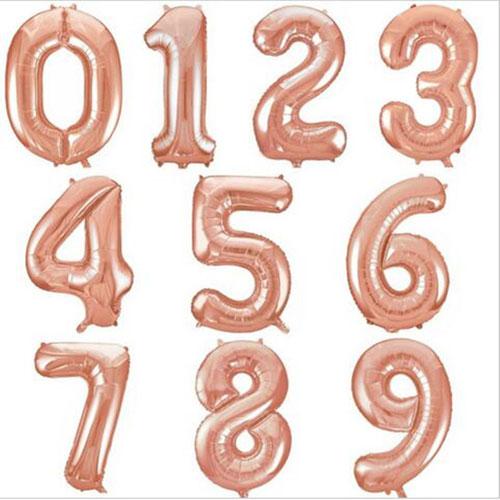 Цифры-Розовое-золото