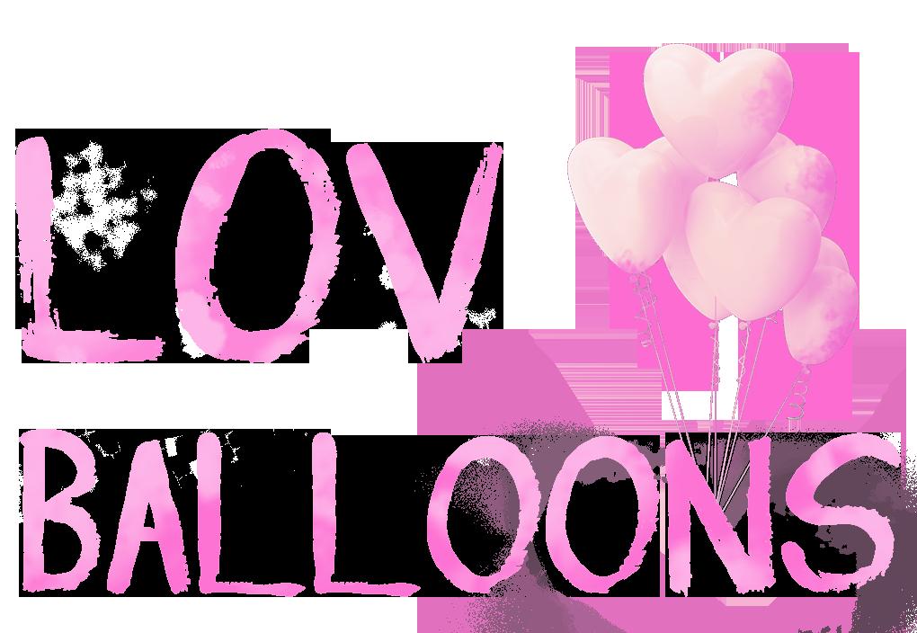 Lov Balloons - воздушные шарики