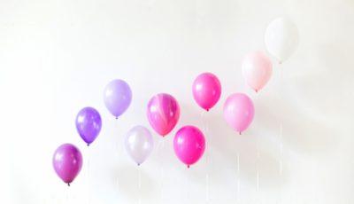 Время полета шаров